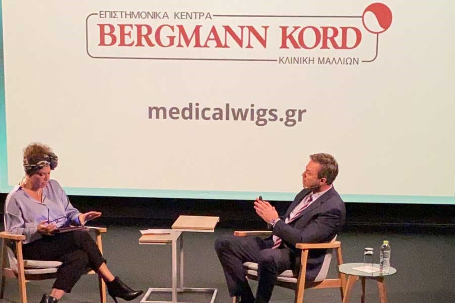 Η Bergmann Kord προσφέρει κούρεμα σε εθελοντές στο πλαίσιo της πρωτοβουλίας κοινωνικής υπευθυνότητας Hair for Help