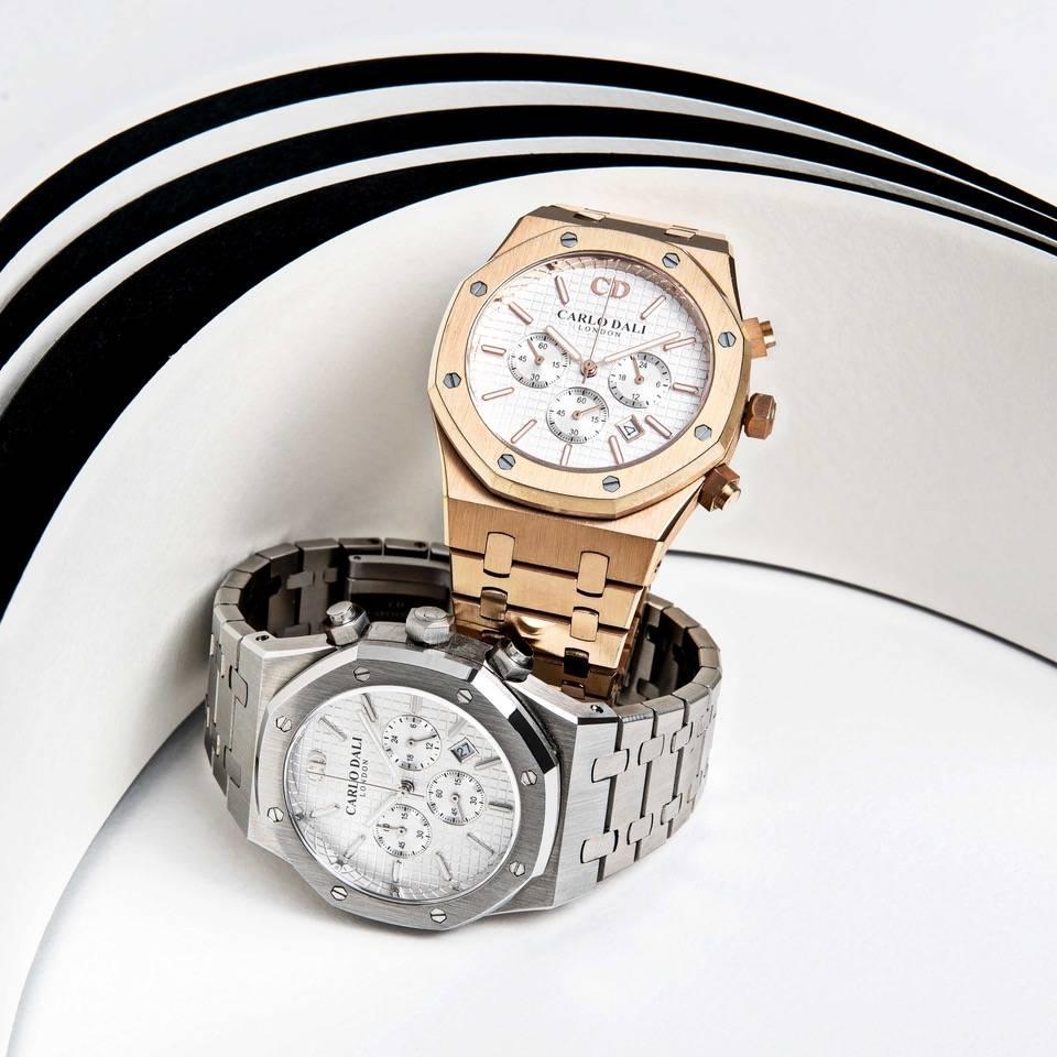 Τα διακριτικά εντυπωσιακά ρολόγια CARLO DALI LONDON ROYAL CHRONOGRAPH  είναι μικρά έργα τέχνης.
