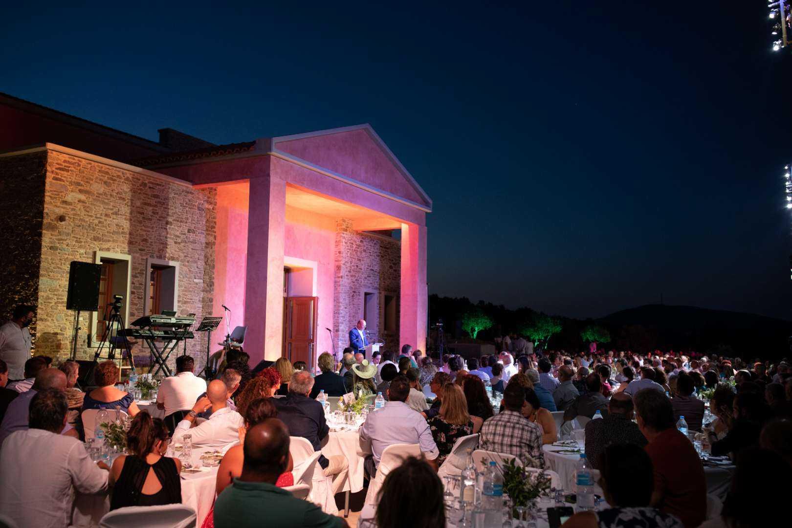 """Το πιο σύγχρονο ελαιοτριβείο στην Ελλάδα """"Sigri Olive Mill"""""""