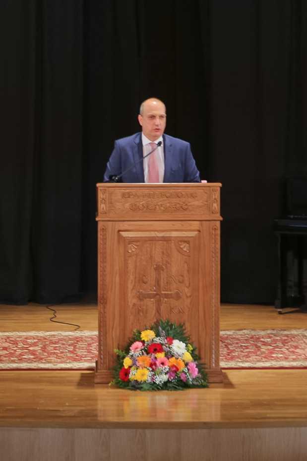 Ο Υφυπουργός Αγροτικής Ανάπτυξης και βουλευτής Φθιώτιδας Ιωάννης Οικονόμου