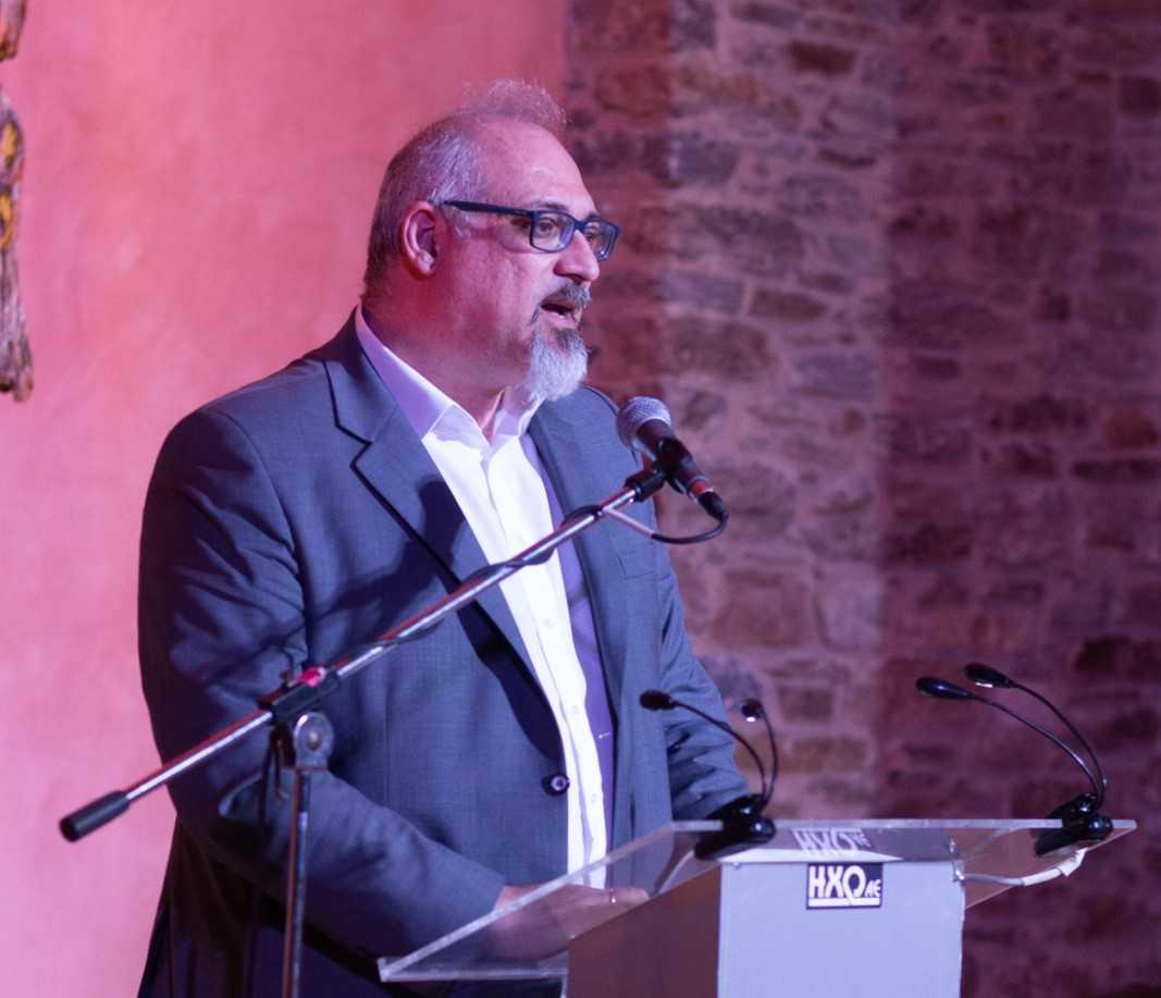 Ο καθηγητής Αναλυτικής Χημείας στο Πανεπιστήμιο Αθηνών Νίκος Θωμαΐδης με καταγωγή από τη Λέσβο